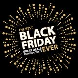 Black friday card. This is Black friday card design.  file Stock Photos