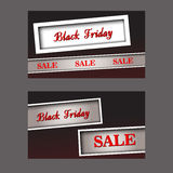 Black Friday cards Stock Images