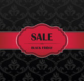 Black Friday collection sale banner Stock Photos