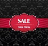 Black Friday collection sale banner Stock Images