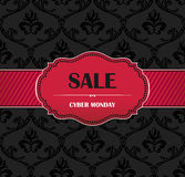 Black Friday collection sale banner Stock Image