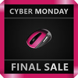 Black Friday collection sale banner Royalty Free Stock Images