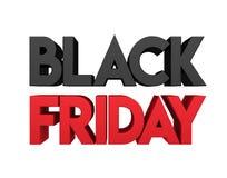 Black Friday Concept Stock Illustration