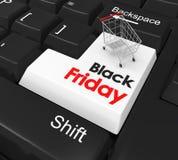 Black Friday Concept Royalty Free Illustration