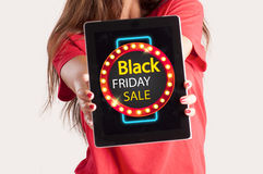 Black friday concept royalty free stock photo