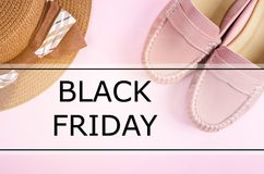 Black friday concept. Royalty Free Stock Images
