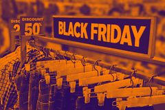Black Friday concept royalty free stock images