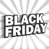 Black Friday. Creative fresh design Royalty Free Stock Photography