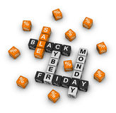Black friday and cyber monday Royalty Free Stock Photo