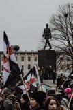 Black Friday - Czarny protest, Polska zdjęcia royalty free