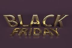 Black friday Royalty Free Stock Photography