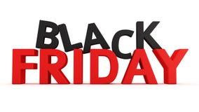Black Friday royalty free illustration
