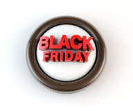 Black Friday 3d Render Royalty Free Stock Photo