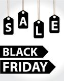 Black Friday. Day sales. Discounts, Special Offers. Vector illustration Royalty Free Stock Image