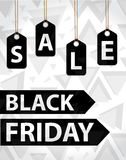 Black Friday. Day sales. Discounts, Special Offers. Vector illustration Royalty Free Stock Photography