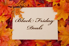 Black Friday Deals Card Royalty Free Stock Image