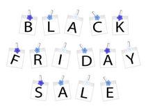 Black Friday des vues de photo avec m'oublient pas Photo stock