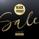 Black Friday design for advertising, banners, leaflets and flyers. Stock Photo
