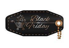 Black Friday design royalty free illustration