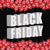 Black friday discounts,offers and promotions. Royalty Free Stock Photo
