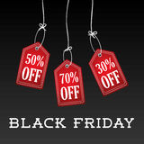 Black friday discounts,offers and promotions. Stock Photo