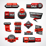 Black Friday Discounts Set Royalty Free Stock Image