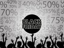Black Friday Discounts Royalty Free Stock Photos