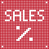 Black friday dots Royalty Free Stock Images