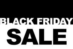 Black Friday-Einkaufsverkaufskonzept Illustration des Verkaufsdatums Lizenzfreie Stockfotos