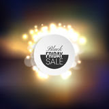 Black friday element, colorful design sale banner Royalty Free Stock Photos