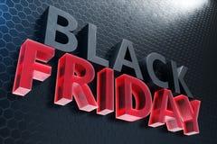 Black Friday - endast en gång om året, maximal rabatter Försäljningar glädje, framgång Ögonblicket Black Friday text på väggen royaltyfri illustrationer