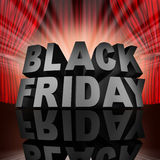 Black Friday Event Stock Photography