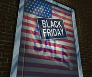 Black Friday-Feiertag Stockfotografie