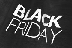 Black Friday Flag Royalty Free Stock Images