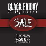 Black Friday Flyer Template, Brochure, Eps File. Black Friday Flyer Template, Vector, Illustration, Eps File Stock Photography