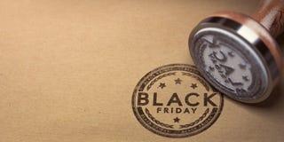 Black Friday-Gebeurtenisachtergrond Royalty-vrije Stock Foto