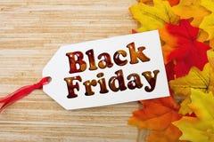 Black Friday Gift Tag Stock Image