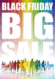 Black Friday, grande vendita Fotografia Stock