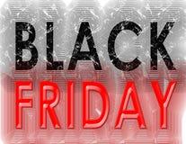 Black Friday grunge vintage Royalty Free Stock Images