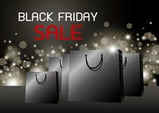Black Friday-het ontwerp vectorillustratie van de verkoopbanner royalty-vrije illustratie