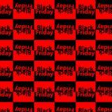 Black Friday-het ontwerpmalplaatje van de verkoopinschrijving Black Friday-patroon Vector illustratie royalty-vrije illustratie