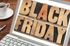 Black Friday-het winkelen concept Royalty-vrije Stock Afbeelding