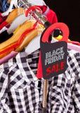 Black Friday-het winkelen verkoopconcept stock afbeeldingen