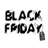 Black Friday-Hintergrund für Geschäft Lizenzfreies Stockfoto
