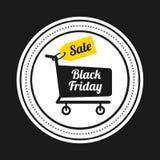 Black friday icon Royalty Free Stock Photos