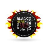 Black friday  icon. Royalty Free Stock Photos