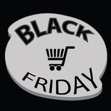 Black friday icon Royalty Free Stock Photography