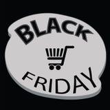 Black friday icon Royalty Free Stock Photography