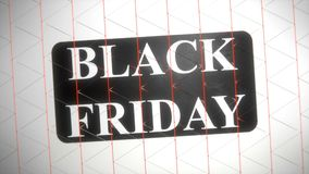 Black Friday vector illustration