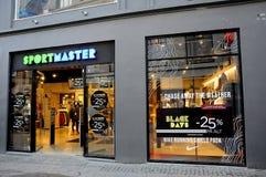 BLACK FRIDAY-KÄUFER IN KOPENHAGEN DÄNEMARK Lizenzfreies Stockfoto